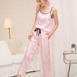Невероятный шёлковый комплект пижама 7в1